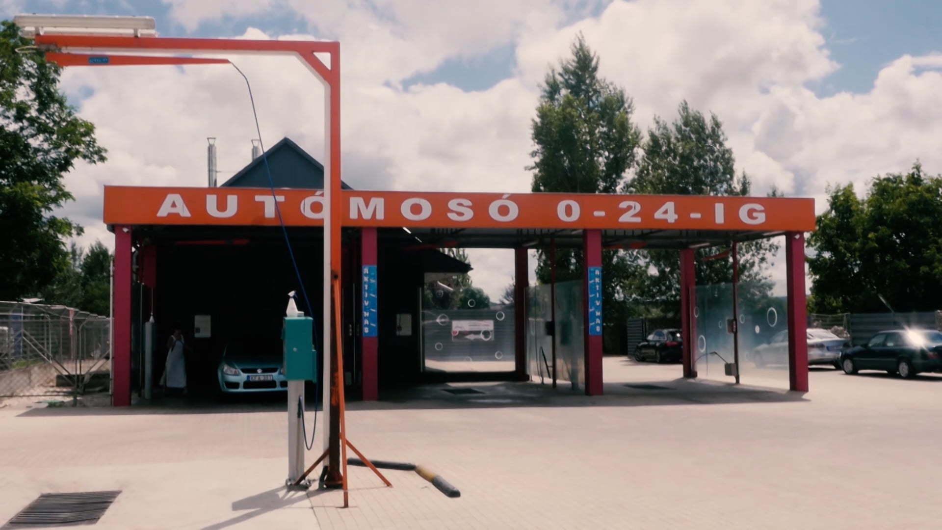 Zamárdi Autómosó - Reklámfilm referencia