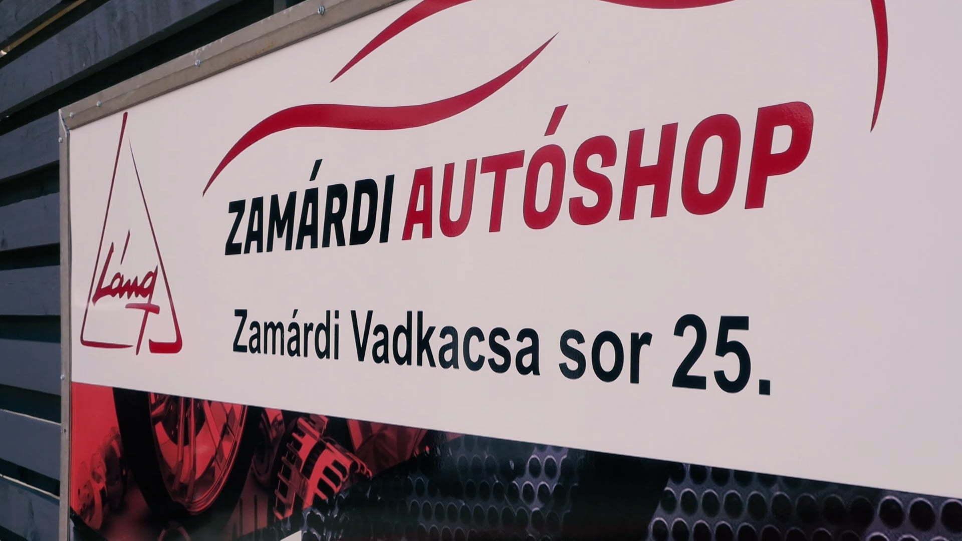Zamárdi Autóshop - Reklámfilm referencia
